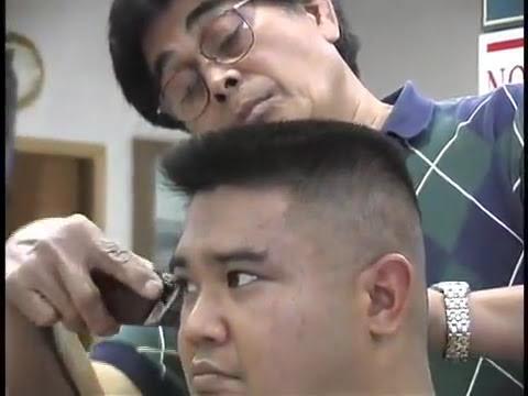 Jun cuts a 6 minute flat top