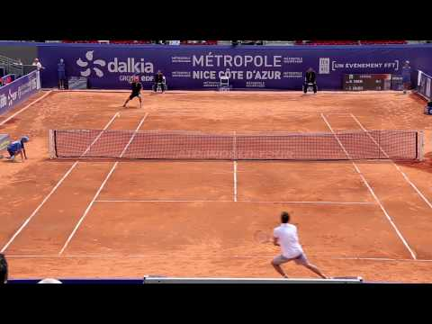 Nice 2015 Thursday Highlights: Dominic Thiem vs. Ernests Gulbis
