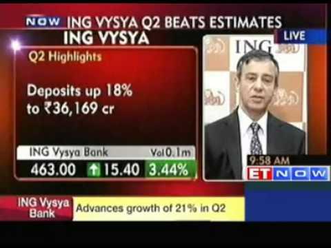 ING Vysya Bank Q2 PAT at Rs 150 crore, up 30% YoY