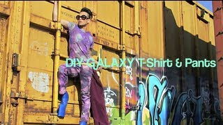 Galaxy/Cosmic DIY Shirt/Pants | Futuristic Accessory