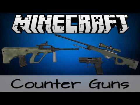 Minecraft Mod Showcase : ปืนมหาประลัย - Counter Guns