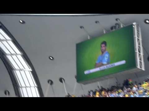 Presentación de Uruguay en el Arena das Dunas
