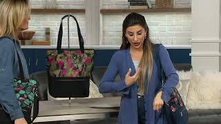 Lug North/South Tote Bag with RFID - Whirl on QVC