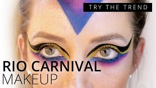 Rio Carnival Makeup Tutorial | TRY THE TREND | Feelunique