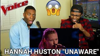 "Download Lagu The Voice 2016 Blind Audition - Hannah Huston: ""Unaware"" (REACTION) Gratis STAFABAND"