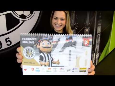 Pořiďte si kalendář FC Hradec Králové na rok 2018