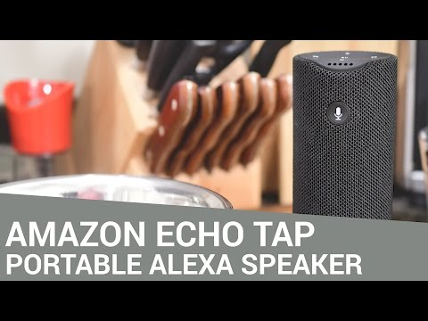 Amazon Echo Tap Bakes Alexa into a Portable Speaker