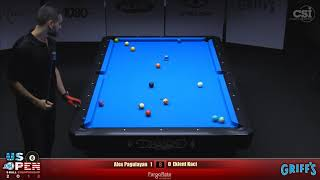2018 US Open 8-Ball Championship: Alex Pagulayan vs Eklent Kaci