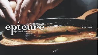 epicure Masterclass - Eggs in Purgatory and Italian doughnuts