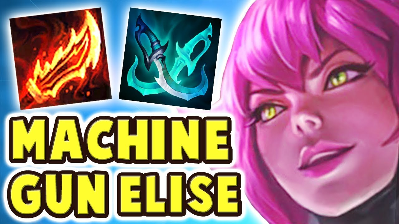 NEW SUPER GALAXY ELISE JUNGLE SPOTLIGHT | LEGENDARY FULL AD BUILD | INVISIBLE ABILITY?! - Nightblue3