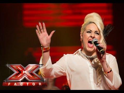 Aleksandra Brkovic (Back to Black - Amy Winehouse) - X Factor Adria - LIVE 6