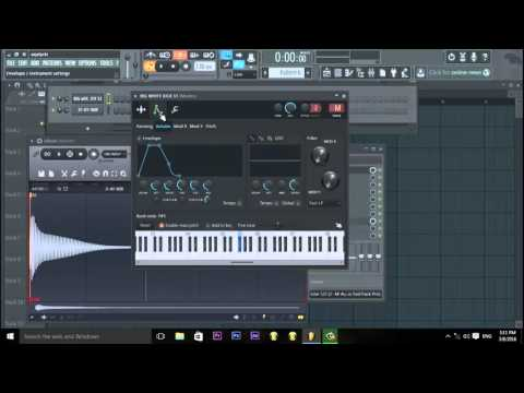 FL Studio 12 Tutorial: How To Tune Your 808s In FL Studio 12