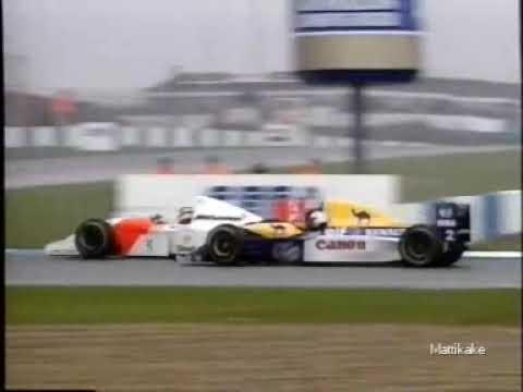 Ayrton Senna F1 Overtakes