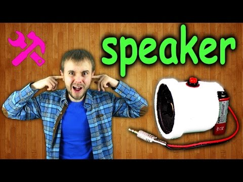 Как сделать портативную колонку для телефона своими руками / How to make a portable speaker