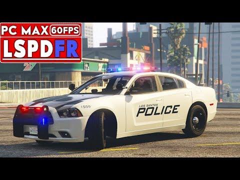 GTA 5 Mods LSPDFR PC 60 FPS - Drunk in public