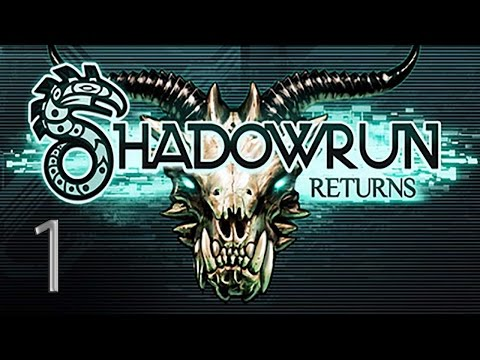 1. Let's Play Shadowrun Returns - Introduction & Character Creation