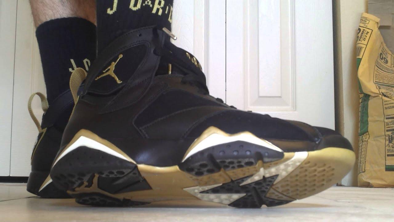 Retro Jordans 7 Gold Jordan Gold Medal Pack Gmp 7