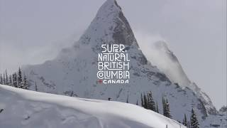 Skiing in British Columbia, Canada