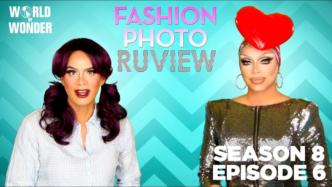 """RuPaul's Drag Race Fashion Photo RuView w/ Raja and Raven Season 8 Episode 6 """"Wizards of Drag"""""""