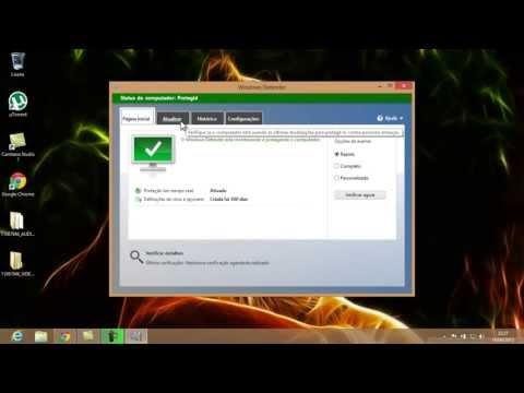 como colocar antivirus no windows 8