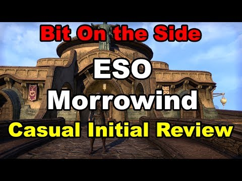 Elder Scrolls Online Morrowind - Initial review from a casual