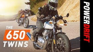 Royal Enfield Interceptor 650 and Continental GT 650 Review : The New Twins : PowerDrift