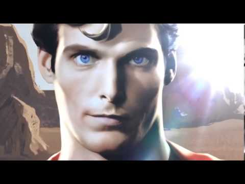 Henry Cavill V.S Christopher Reeve (Man Of Steel V.S Superman I. II. III. IV) ANIMACION PROMO 2013