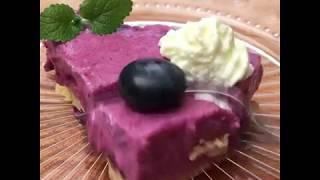 GastroHobbi I Áfonya torta sütés nélkül