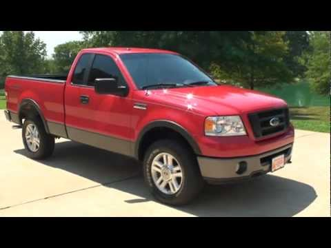 2007 ford f 150 f150 truck fx4 4x4 4wd for sale milan tn. Black Bedroom Furniture Sets. Home Design Ideas