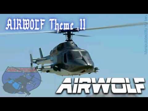 超音速攻撃ヘリ エアーウルフ テーマ曲   Airwolf Theme ,2 (copy) video