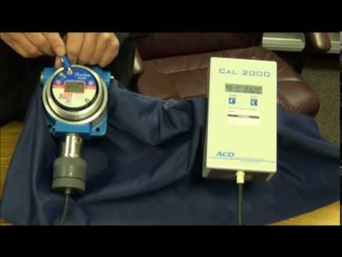 How to Calibrate your Gas Sensor with the ACD CAL 2000 Gas Generator
