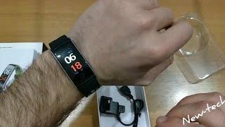 Q8S Smart Bracelet Heart Rate Monitor Waterproof Fitness Tracker Bluetooth Watch Band Q8