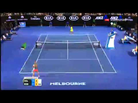 Serena Williams vs Angelique kerber Australian open 2016
