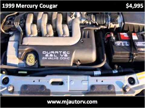 1999 Mercury Cougar Used Cars Allenton WI