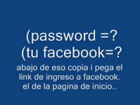 Como hakear un facebook 2011