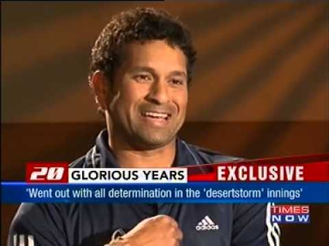 Sachin Tendulkar Interviewed by Boria Majumder