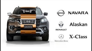 ปิคอัพ 1 โมเดล แต่ขาย 3 ยี่ห้อ(ได้ไง) Nissan-Renault-Mercedes Benz | MZ Crazy Cars