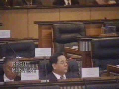 Parlimen Malaysia - You Tak Suka, You Keluar Dari Malaysia