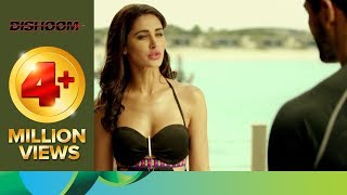 Varun and John are stunned after seeing Nargis Fakhri in bikini | Dishoom | Movie Scene
