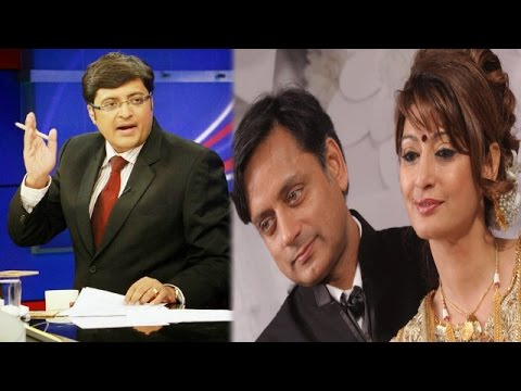 The Newshour Debate:Delhi Police Registers Murder Case In Sunanda's Death-Full Debate (6th Jan 2014)