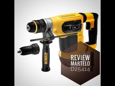 Review martelo perfurador e rompedor rotativo Dewalt D25414K
