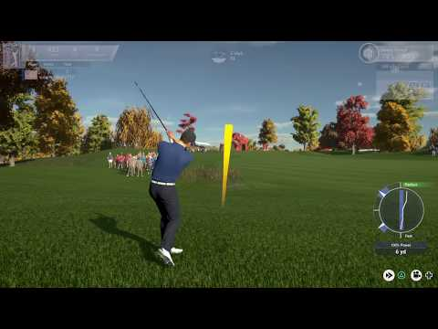 The Golf Club 2019 featuring PGA TOUR - MyCareer - The Golf Club Open - 2K Sports -PS4