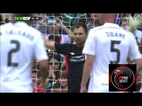 Highlights - Real Madrid Legends 4 - 2 LFC Legends
