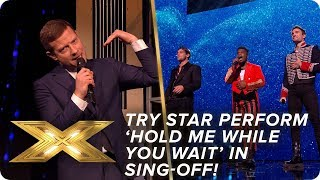 Try Star perform 'Hold Me While You Wait'' in sing-off! | Semi-Final | X Factor: Celebrity