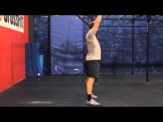 "Reebok CrossFit ONE Movement Demo ""Kettle Bell Swing"""