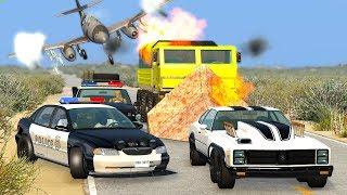 EPIC POLICE CHASES #38 - BeamNG Drive | CRASHdriven