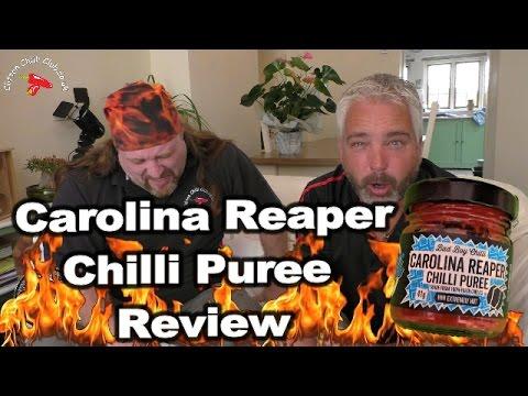 Carolina Reaper Chilli Puree Review
