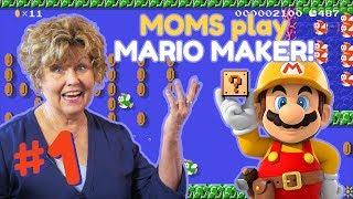 What happens when MOMS make Mario levels?