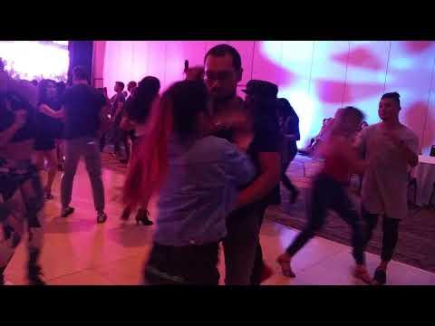 Andres Giraldo And Claudia Vazquez Social Dancing At BIG Salsa Festival 2017