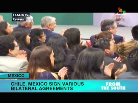 Mexico, Chile Sign Bilateral Agreements